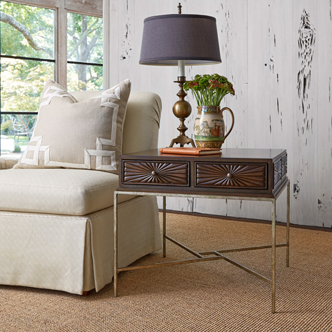 Ambella Home Collection - Campaign Side Table - 09130-900-002