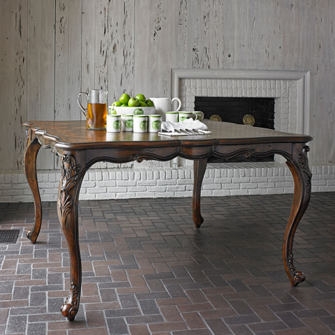 Ambella Home Collection - Lorraine Square Gathering Table - 10116-500-062
