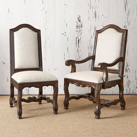 Ambella Home Collection - Avignon Arm Chair in Balsamo Rain - 10124-620-005