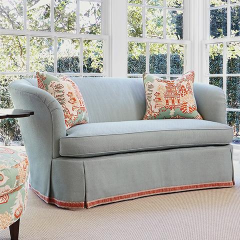 Ambella Home Collection - Savannah Sofa with Skirt - 1105-01