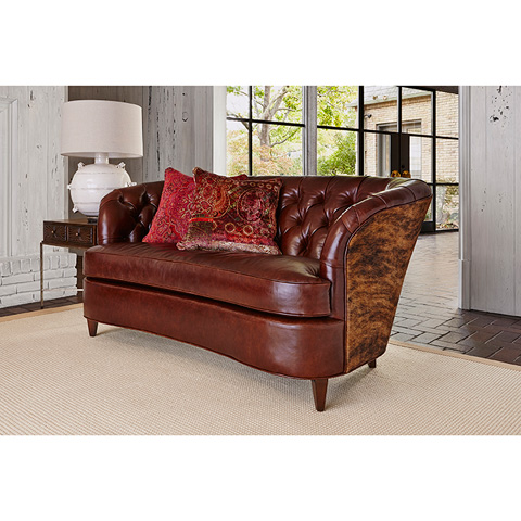 Ambella Home Collection - Savannah Sofa with Tufted Back - 1109-01