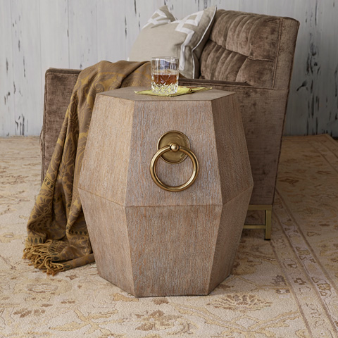 Ambella Home Collection - Hexagonal Accent Table - 12567-900-011