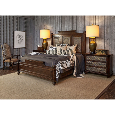 Ambella Home Collection - Castilian Bed in King - 17525-200-084