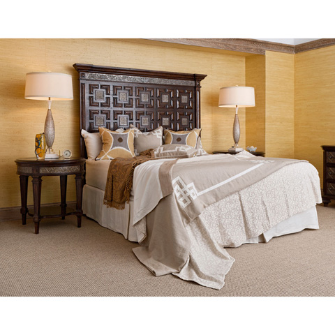 Ambella Home Collection - Castilian Panel Headboard in King - 17534-205-084