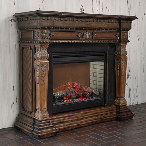 Ambella Home Collection - St. Andrews Electric Fireplace - 20008-400-058