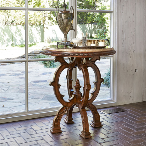 Ambella Home Collection - Mosaic Bar Table - 24009-500-038