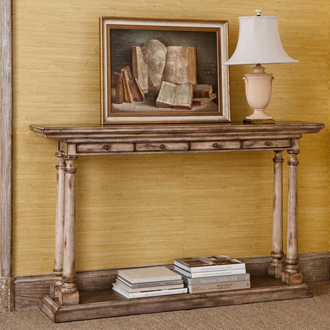 Ambella Home Collection - Tapered Column Console Table - 24021-850-001
