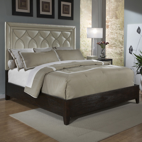 Ambella Home Collection - Manhattan Bed in King - 24027-200-090