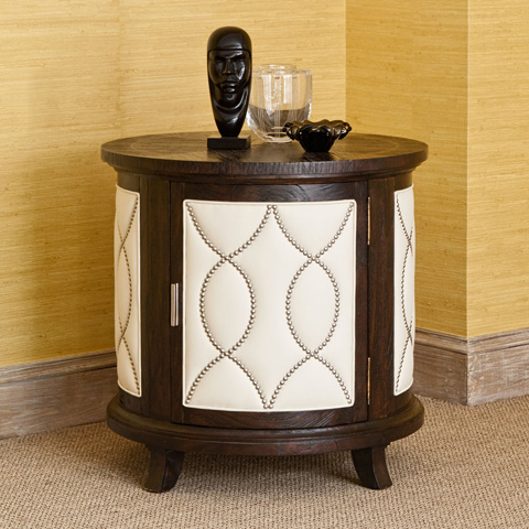 Ambella Home Collection - Manhattan Round Accent Table - 24027-900-001