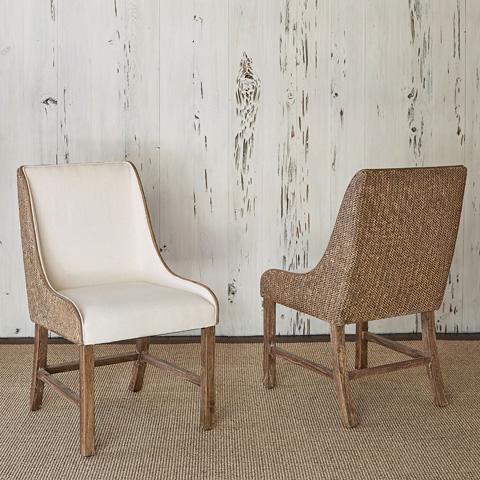 Ambella Home Collection - Voranado Woven Side Chair - 27021-610-001