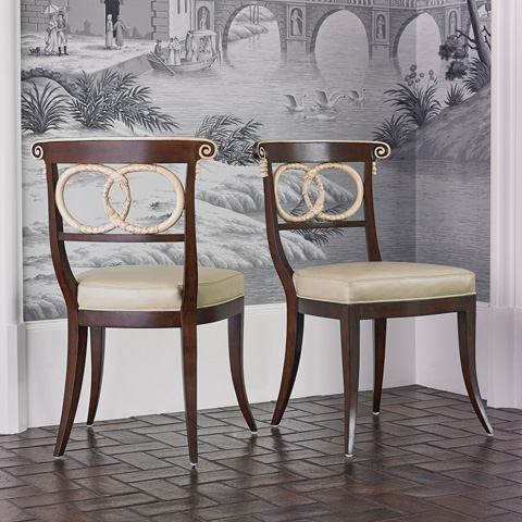 Ambella Home Collection - Dolphin Side Chair - 58012-700-003