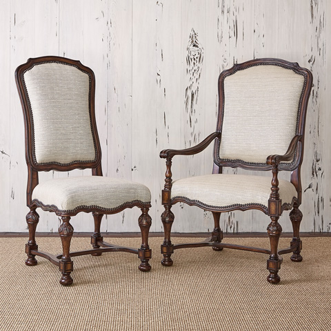 Ambella Home Collection - New Provence Side Chair - 58016-610-001