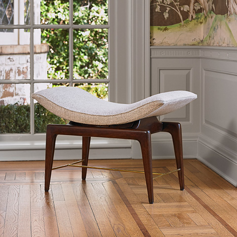 Ambella Home Collection - Saddle Bench - 580-29