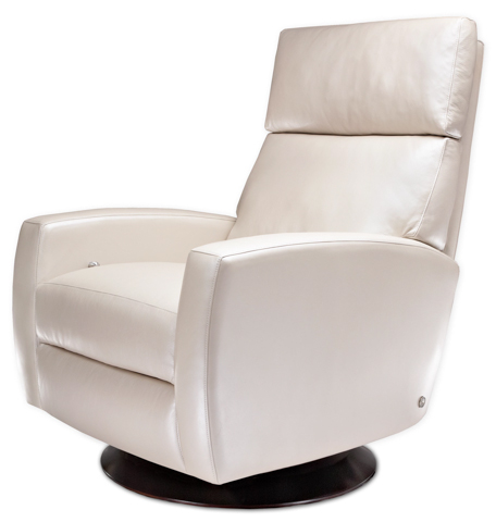 American Leather - Ella Medium Swivel Recliner - EEL-RV7-ST
