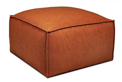 American Leather - Collins Ottoman - CLL-OTO-ST