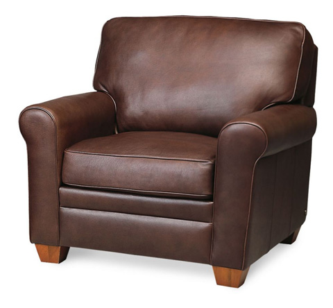 American Leather - Braxton Chair - BRX-CHR-ST
