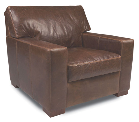 American Leather - Danford Chair - DAN-CHR-ST