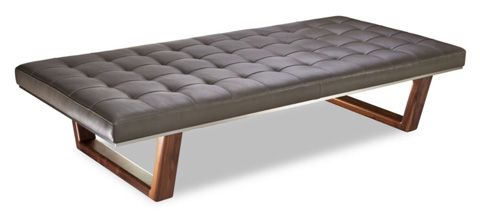 American Leather - Edison Bench - EDS-BNH-ST