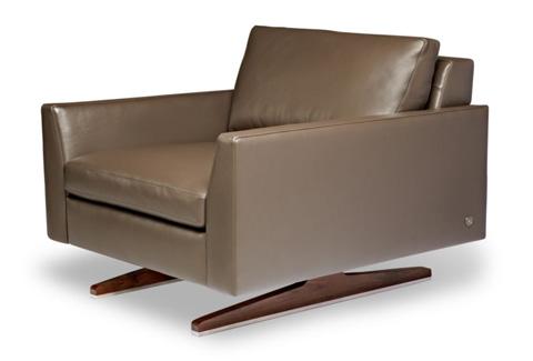 American Leather - Flynn Chair - FLY-CHR-ST