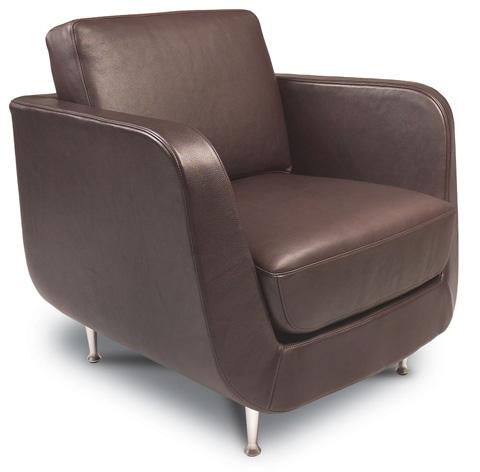 American Leather - Menlo Park Chair - MEN-CHR-ST