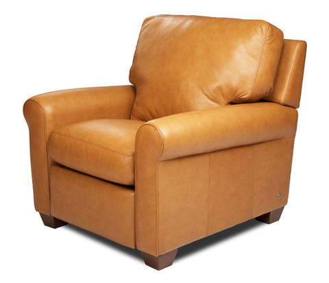 American Leather - Savoy Chair - SVY-CHR-ST
