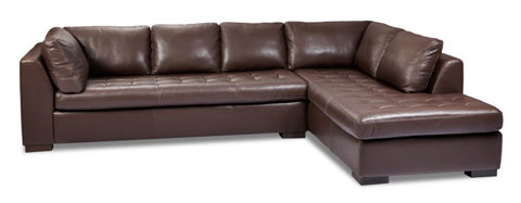 American Leather - Astoria Sectional - ARI-SO3-RA/ARI-SBC-LA