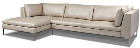 American Leather - Inspiration Sectional - INS-SCH-RA/INS-SM2-LA