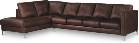 American Leather - Kendall Sectional - KND-LBC-RA/KND-SO4-LA
