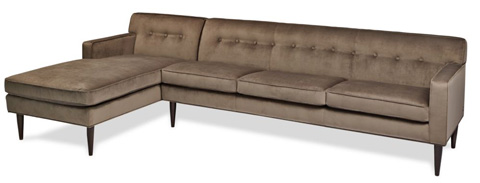 American Leather - Quincy Sectional - QUI-SCH-RA/QUI-SO3-LA