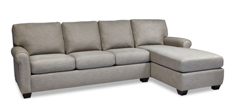 American Leather - Savoy Sectional - SVY-SO3-RA/SVY-SCH-LA