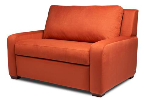 American Leather - Lyndon Chair and a Half - LYN-CH2-TS