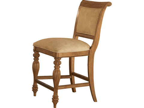 Image of Counter Height Upholstered Barstool