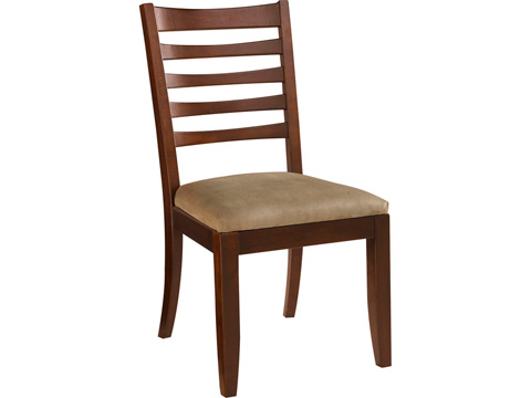 American Drew - Splat Side Dining Chair with Upholstered Seat - 912-636