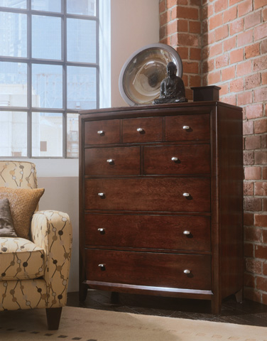 American Drew - Five Drawer Chest - 912-215