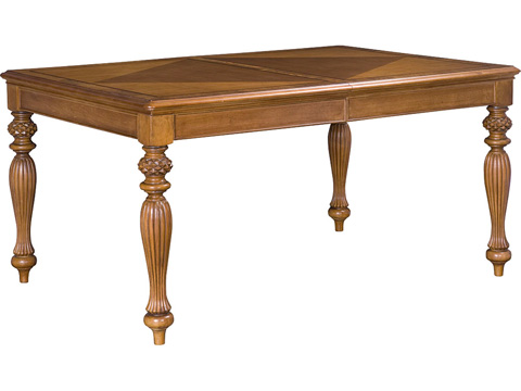 Image of Grand Isle Rectangular Leg Dining Table