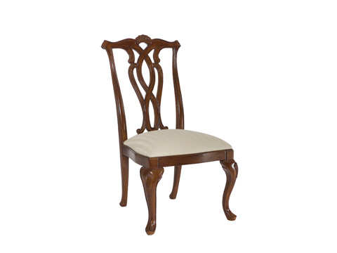Image of Cherry Grove Pierced Back Side Chair