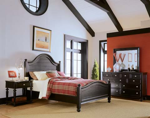 American Drew - Panel Bed - 919-313R/316R