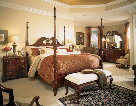 American Drew - Pediment Poster Bed - 791 BED