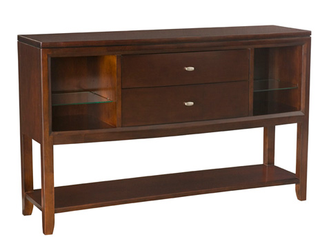 Image of Tribecca Sideboard with Display Shelf