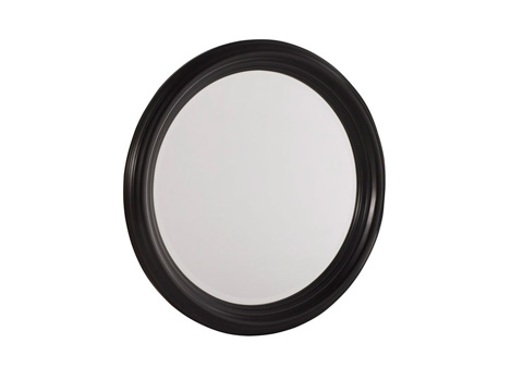 Image of Round Beveled Edge Mirror