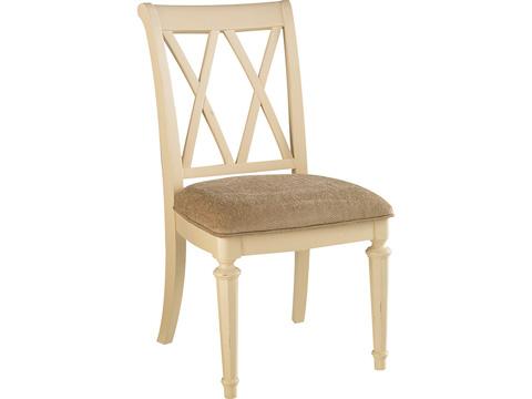 American Drew - Splat Back Upholstered Side Chair - 920-636