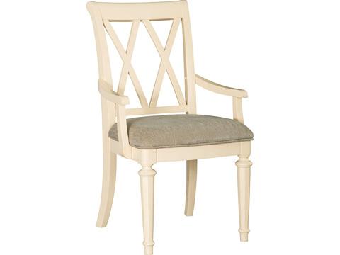 American Drew - Splat Back Upholstered Arm Chair - 920-637