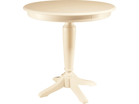 Image of Bar Height Pedestal Table