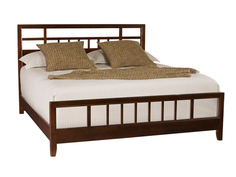 American Drew - California King Slat Bed - 912-327R