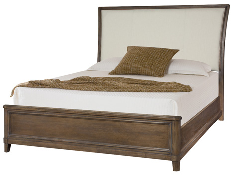 American Drew - Queen Upholstered Sleigh Bed - 488-304R