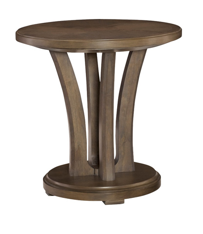 American Drew - Round Lamp Table - 488-918