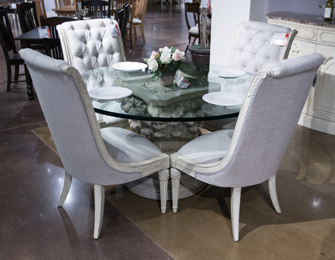 Image of Jessica McClintock Seven Piece Dining Room Set