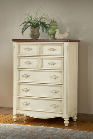 American Woodcrafters - Chateau 5 Drawer Chest - 3501-150