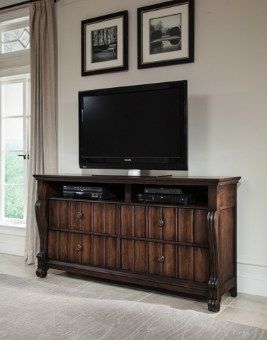 American Woodcrafters - Media Chest - 8600-232