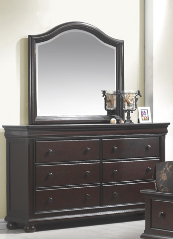 American Woodcrafters - Dresser with Mirror - 1310-MR/1310-DR